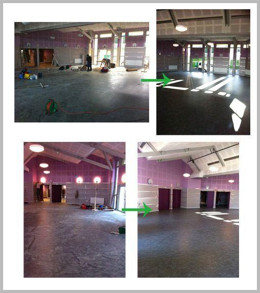 Remise en état de la salle polyvalente de Saint Just Malmont pour les présidentielles 2012 ! | 12