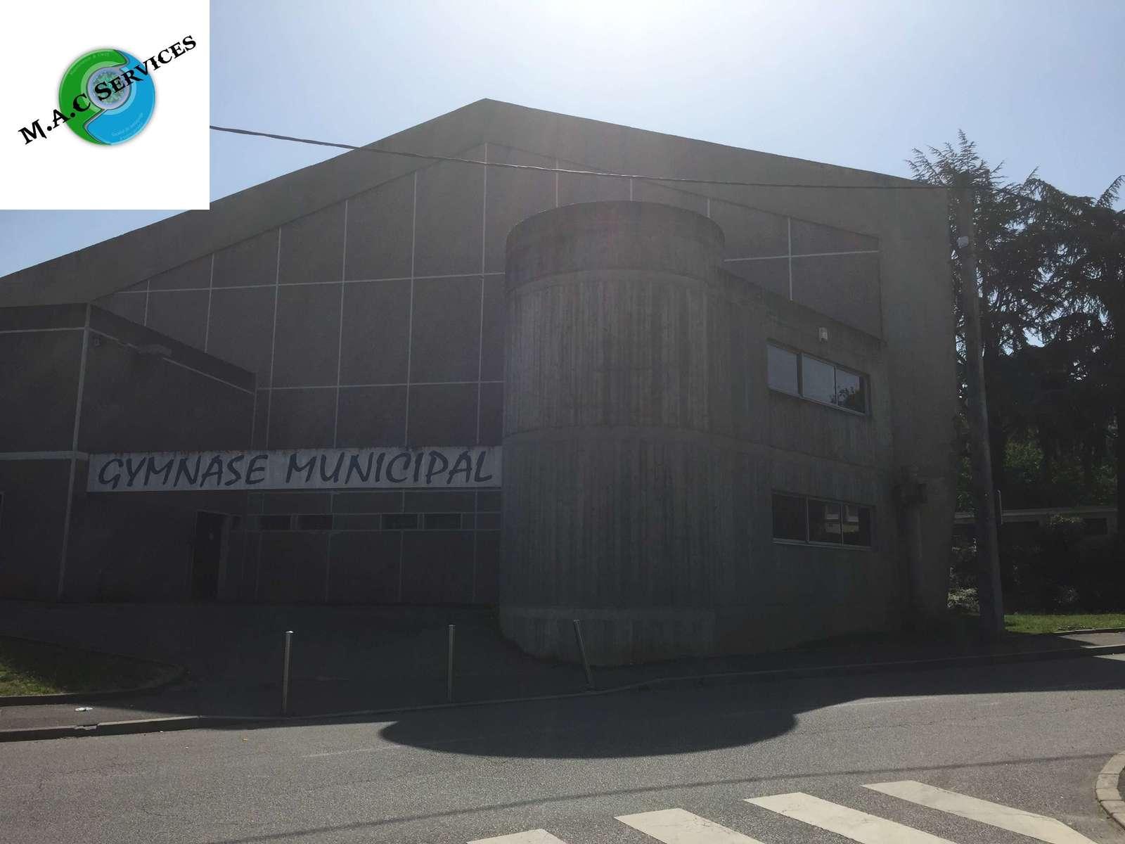 Remise en état du Gymnase municipal de Firminy