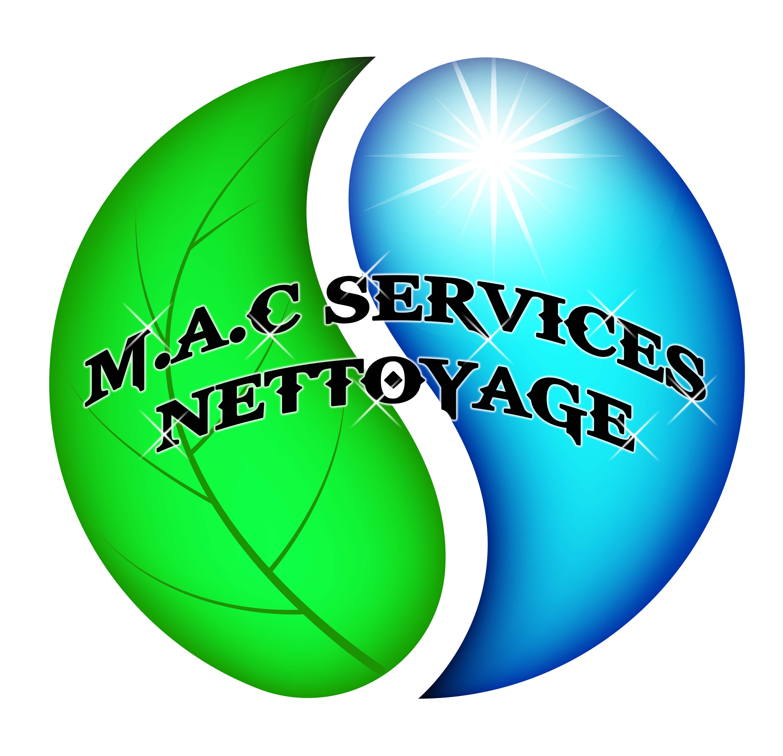M.A.C SERVICES Nettoyage vous présente son Nouveau Logo.
