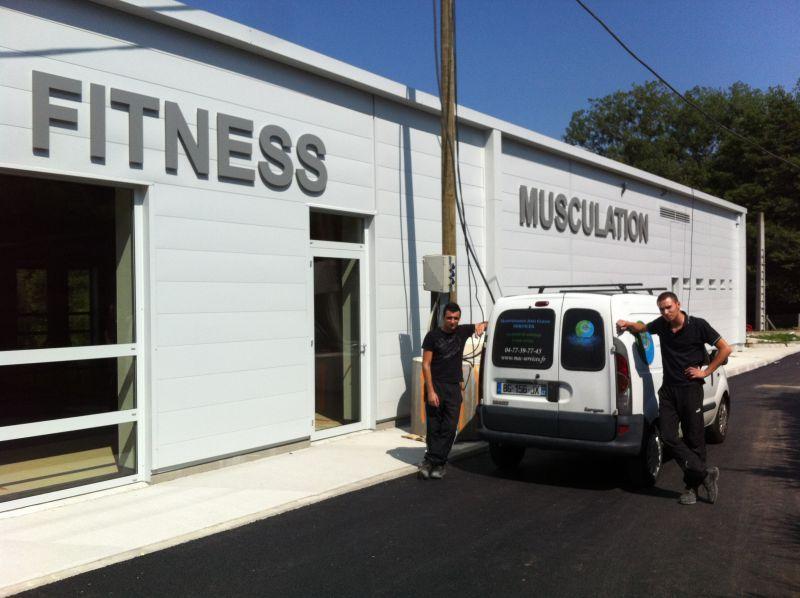 Remise en état du centre de fitness - Monistrol-sur-Loire (43)