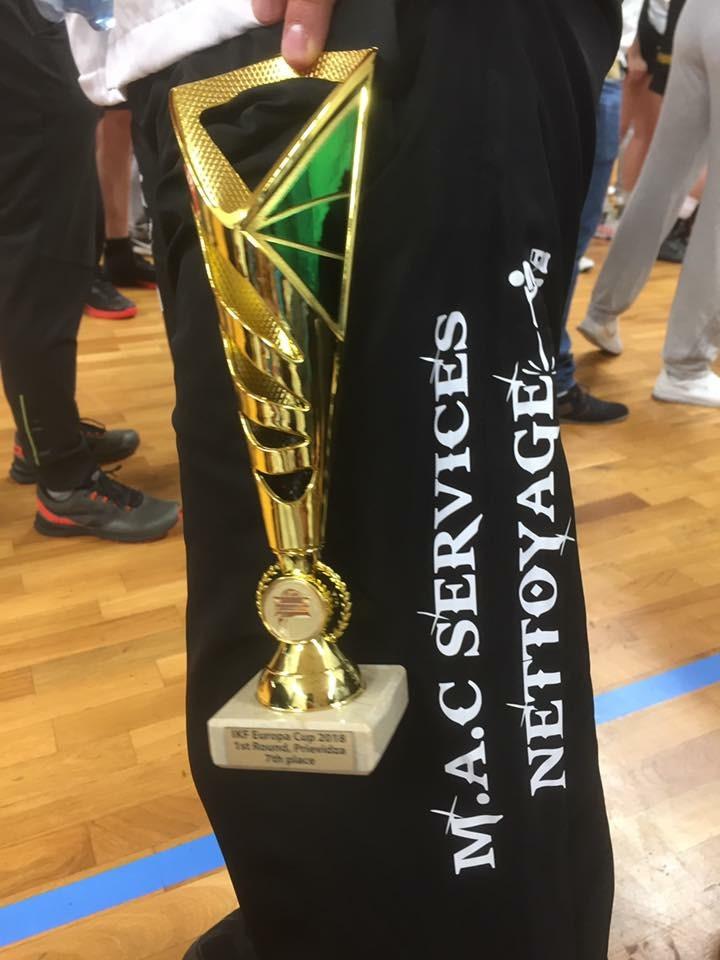 M.A.C SERVICES Nettoyage - Sponsor de l'équipe AKF Association Korfbal Firminy