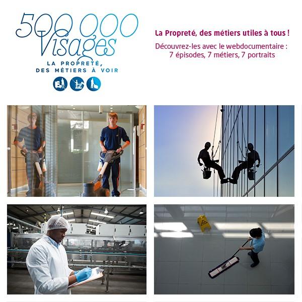 500 000 Visages, La Propreté – des métiers à voir