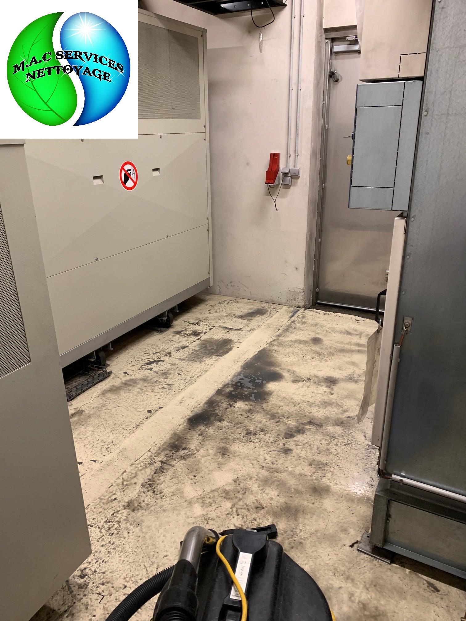 M.A.C SERVICES Nettoyage : Remise en état du tunnel du rond point de Saint-Etienne