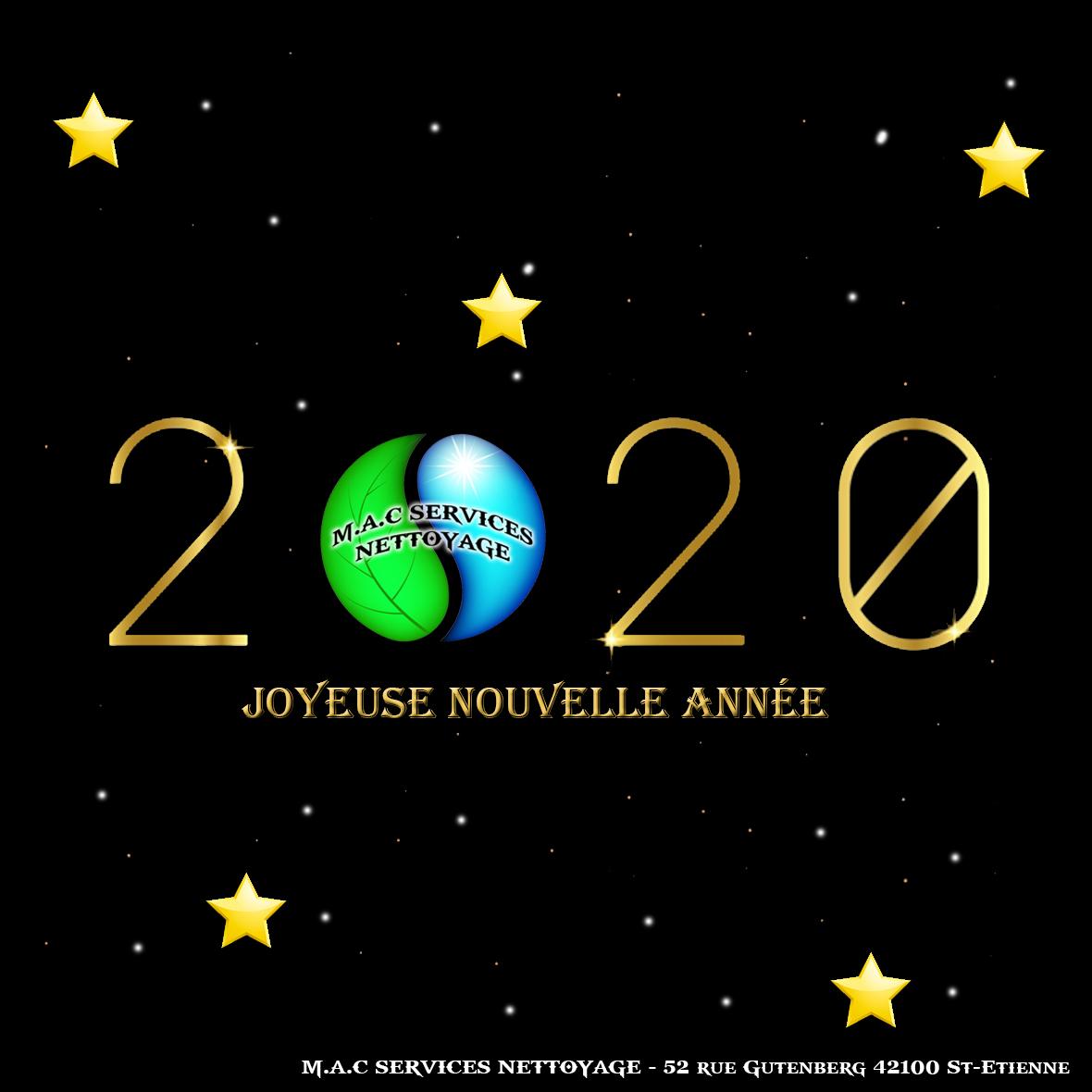 M.A.C SERVICES NETTOYAGE : BONNE ANNEE 2020